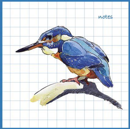 Kingfisher Notebook