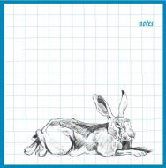 Resting Hare Notebook